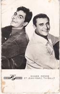 Roger Pierre Et Jean Marc Thibault Photo Lucienne Chevert éditions P L N°1119 - Cantantes Y Músicos