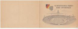DDR, II. Deutsches Turn- Und Sportfest Leipzig 1956 Stamps And Pmk B211015 - Briefe U. Dokumente