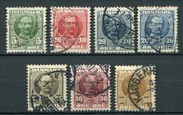 Dänemark Ex.Nr.53/9         O  Used        (800) - Used Stamps