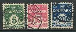 Dänemark Nr.63/5         O  Used        (801) - Used Stamps