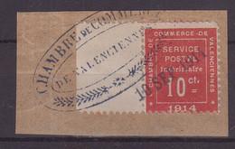FRANCE : GUERRE . N° 1 . OBL . SUR FGT . 1914 . ( CATALOGUE YVERT ) - Guerres