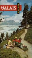 SUISSE LE VALAIS  Vers 1945 / 1950 - Dépliants Turistici