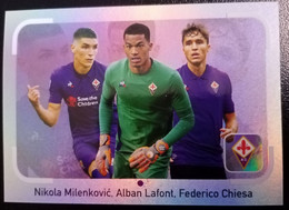 Figurina Calciatori 2019 Panini 2018-19 Lafont Milenkovic Chiesa Fiorentina N 170 - Edizione Italiana