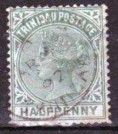 Trinidad 1883 Victoria Single ½d Stamp From The Definitive Set In Fine Used - Trinidad & Tobago (...-1961)