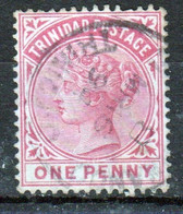 Trinidad 1883 Victoria Single 1d Stamp From The Definitive Set In Fine Used - Trinidad & Tobago (...-1961)