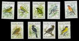 (008+24) Malawi  Birds / Vögel / Oiseaux / Vogels / Rare 10 K Stamp !!  ** / Mnh  Michel Ex 501-16 + 649 - Malawi (1964-...)