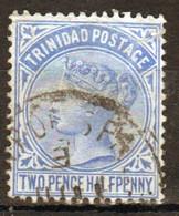 Trinidad 1883 Victoria Single 2½d Stamp From The Definitive Set In Fine Used - Trinidad & Tobago (...-1961)