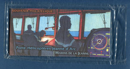 ⭐ France - Bloc Souvenir - YT N° 55 - Porte Hélicoptère Jeanne D'Arc - Sous Blister - 2010 ⭐ - Souvenir Blocks