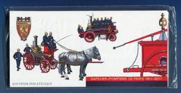 ⭐ France - Bloc Souvenir - YT N° 59 à 64 - Bigade Des Sapeurs Pompiers - Sous Blister - 2011 ⭐ - Souvenir Blocks