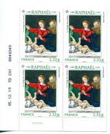 """FRANCE 2020 Y&T N° 5396  : """"Vierge De Lorette"""" Raphaël - Coin Daté 05.12.19 - 2010-...."""