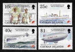 Cayman Islands  Mi.Nr. 738/41 **/ MNH - Cayman Islands