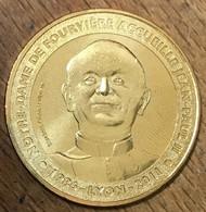 69 PAPE JEAN-PAUL II LYON NOTRE-DAME DE FOURVIÈRE 2012 MÉDAILLE MONNAIE DE PARIS JETON TOURISTIQUE MEDALS COINS TOKENS - 2012