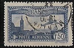 FRANCE  Poste Aérienne: Avion Survolant Marseille  N°6 Année 1930 - 1927-1959 Afgestempeld