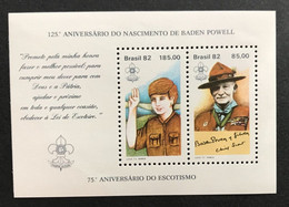 BRASIL BRESIL 1982 - NEUF**/MNH - YT BLOC BF B 50 - Mi Block 51 - SCOUTISME SCOUTS BADEN POWELL - LUXE - Unused Stamps