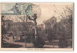 CPA Italie Gallarate Giardino Pubblico - Altre Città