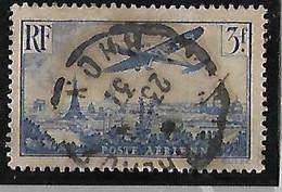 FRANCE  Poste Aérienne: Avion Survolant Paris   N°12 Année 1936 - 1927-1959 Afgestempeld