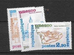 1981 MNH Unesco,  Mi 24-6 Postfris** - Ungebraucht
