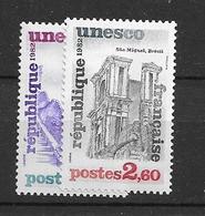 1982 MNH Unesco,  Mi 27-28 Postfris** - Ungebraucht