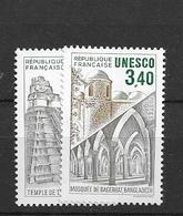 1986 MNH Unesco,  Mi 37-38 Postfris** - Ungebraucht