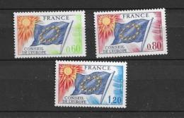 1975 MNH European Council, Postfris - Ungebraucht