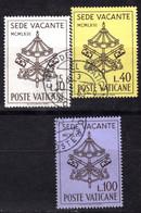 Vaticano (1963) - Sede Vacante Ø - Usati