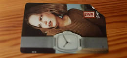 Phonecard Italy - Clock, Watch, Woman - Pubbliche Pubblicitarie