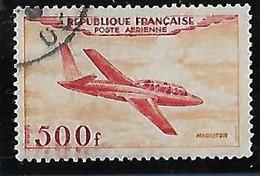 FRANCE  Poste Aérienne: Prototypes:Magister   N°32 Année 1954 - 1927-1959 Afgestempeld
