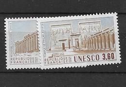 1987 MNH Unesco,  Mi 39-40 Postfris** - Ungebraucht