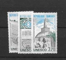 1985 MNH Unesco,  Mi 34-36 Postfris** - Ungebraucht