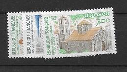 1984 MNH Unesco,  Mi 31-33 Postfris** - Ungebraucht