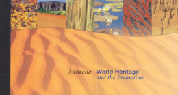UNO NEW YORK Markenheftchen MH 0-4, Postfrisch **, Welterbe: Australien 1999 - Markenheftchen