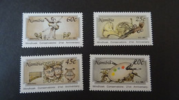 1992 Yv 671-674 MNH C51 - Namibia (1990- ...)