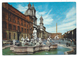 PIAZZA NAVONA / PLACE NAVONA / NAVONA SQUARE / NAVONA PLATZ.- ROMA - ( ITALIA ) - Piazze