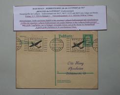 AD17 ALLEMAGNE BELLE LETTRE 1927 VOYAGEE STUTTGART POUR SFORZHEIM    +AEROPHILATELIE + AFFRANCH. INTERESSANT - Briefe U. Dokumente