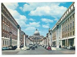 VIA DELLA CONCILIAZIONE E S. PITRO / RECONCILIATION STREET AND ST.PETER.- ROMA - ( ITALIA ) - San Pietro
