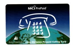 "MCI Prepaid DATAWAVE  ""Long Distance Prepaid Calling Card"" - Carte Magnétique - Other"