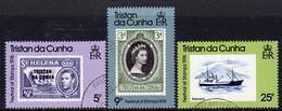 Tristan Da Cunha 1976 Festival Of Stamps Set Of 3, Used, SG 204/6 - Tristan Da Cunha