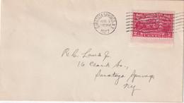 USA 1927 LETTRE DE SARATOGA SPRINGS - Covers & Documents