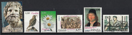 Espagne 2007 : Timbres Yvert & Tellier N° 3962 - 3963 - 3964 - 3971 - 3973 Et 3975 Oblitérés. - 2001-10 Usati