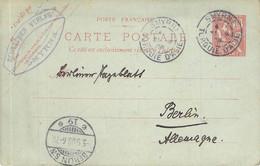 MiNr.P? 1 Smyrna - Berlin 1908 - Covers & Documents