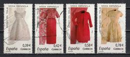 Espagne 2007 : Timbres Yvert & Tellier N° 3967 - 3968 - 3969 Et 3970 Oblitérés. - 2001-10 Usati