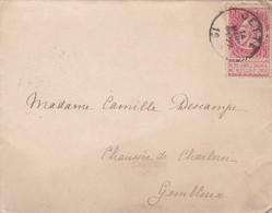 Enveloppe 58 Jette à Gembloux - 1893-1900 Fine Barbe