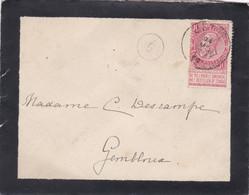 Enveloppe 58 Jette à Gembloux Cachet Facteur 9 - 1893-1900 Fine Barbe