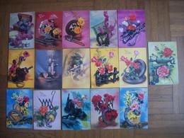 LOT DE 24 CARTES  DE ST ELOI ET ST BARBE ET 15 CARTES EN DOUBLE - 5 - 99 Karten
