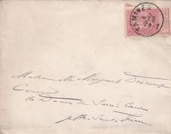 Enveloppe 57 Tamines à Jette Saint Pierre - 1893-1900 Fine Barbe