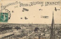 Themes Div Ref GG938- Aviation - Avions - Souvenir Fetes D Aviation De Nancy - Meurthe Et Moselle - - Reuniones