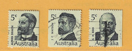 Timbre Australie N° 398 - 399 - 400 - Used Stamps