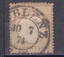 Deutsches Reich 1872 - Mi.Nr. 22  - Gestempelt Used - Koblenz - Gebraucht