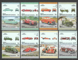 St Vincent Grenadines (Bequia) 1987 Mi 216-231 MNH CLASSIC CARS - Automobili