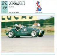 Grande Bretagne 1950-1953 - Connaught Type A - Auto's